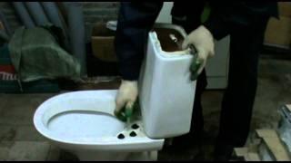 видео Ido trevi арматура для унитаза