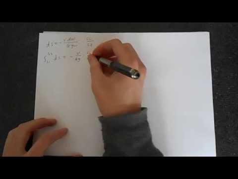 Breguet Range Equation Derivation