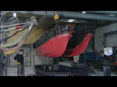 Pioner  Boats polyethynene   rotational moulding