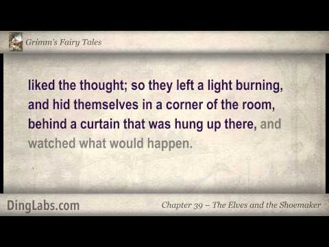 The Elves And The Shoemaker - Grimm's Fairy Tales By The Brothers Grimm - 39