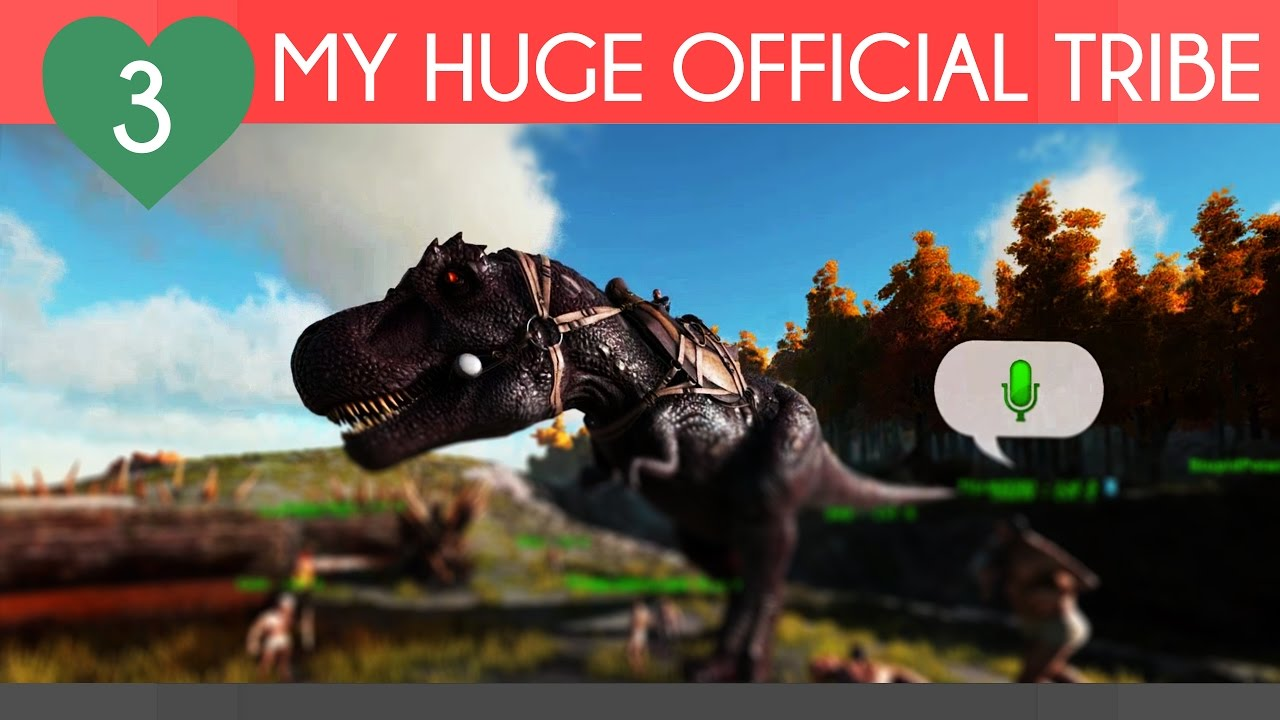 BIGGEST TRIBE EVER ON OFFICIAL? | Ark Survival Evolved, Offical Server PvP  | Episode 3