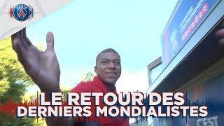 LE RETOUR DES DERNIERS MONDIALISTES with Mbappé, Cavani