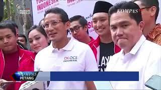 Download Video Sandiaga Uno Bertemu Erick Thohir Pascapilpres 2019 MP3 3GP MP4