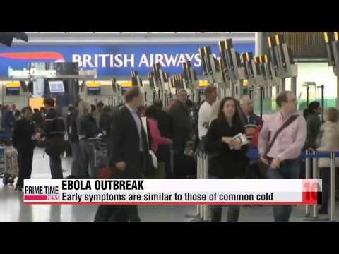 Ebola outbreak spreads across West Africa   에볼라 바이러스  10대 뉴스