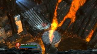Fiery Depths Pillars & Flame Jets - Guardian of Light