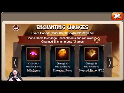 JT's Free 2 Play Enchanting Changes For Sasquatch Opening Rewards Castle Clash