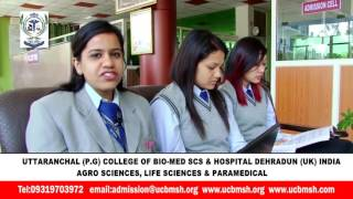 UCBMSH-TOP PARAMEDICAL,LIFE SCIENCES,AGRO SCIENCE,COLLEGE INDIA