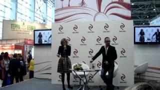 Ксения Бородина на презентации своей книги