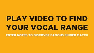 Video Find Your Vocal Range & Famous Singer Match (in 90 Seconds) download MP3, 3GP, MP4, WEBM, AVI, FLV Oktober 2018