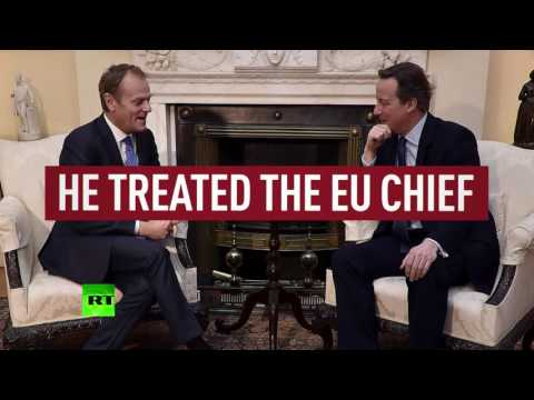 Shaking Hands: David Cameron's 'special EU membership deal' for UK