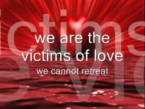 victims of love Lyrics joe lamont