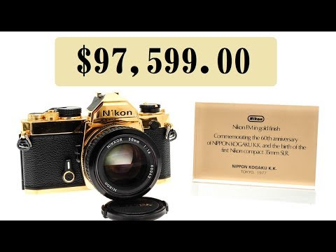 Top 10 Most Expensive DSLR Cameras in The World 2018