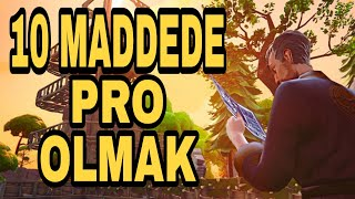 Fortnite Nasıl pro Olurum? - Fortnite Battle Royale ps4 Türkçe