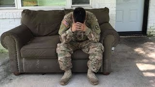 This Hero Soldier Returns From Service To