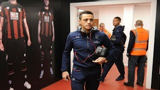 Alexis Sanchez Thanks The Fans    Bournemouth 0 Arsenal 2