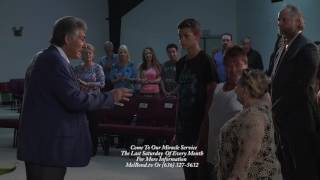 Salvation Prayer Healing Miracle - Woman Throws Cane And Walks - Mel Bond