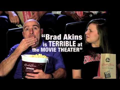 Brad Akins (is terrible) at the Movies