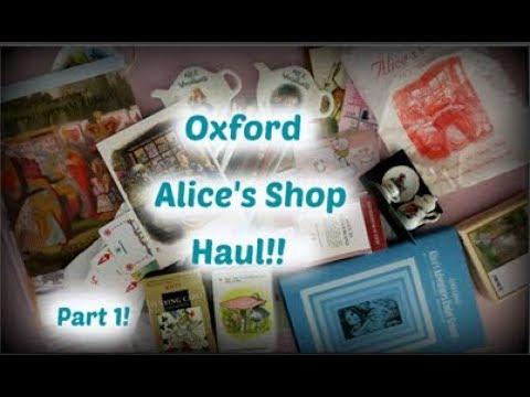 Oxford Alice's Shop haul!! Part one!!