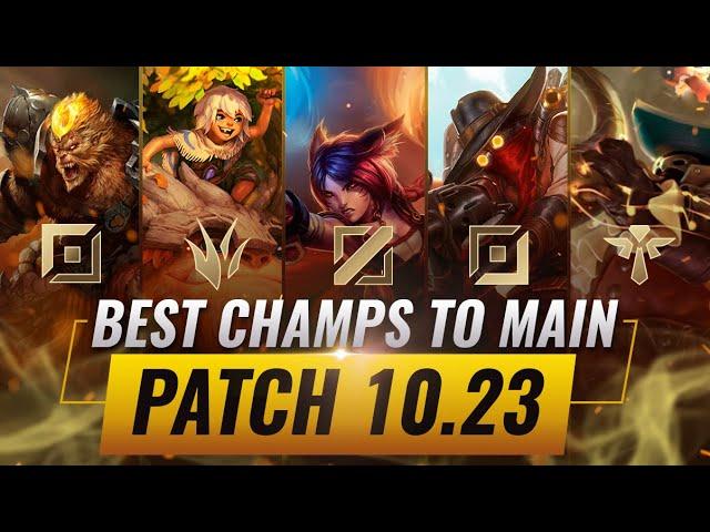 3 Best Champions To Main For Every Role In Patch 10 23 League Of Legends Preseason 11 Youtube