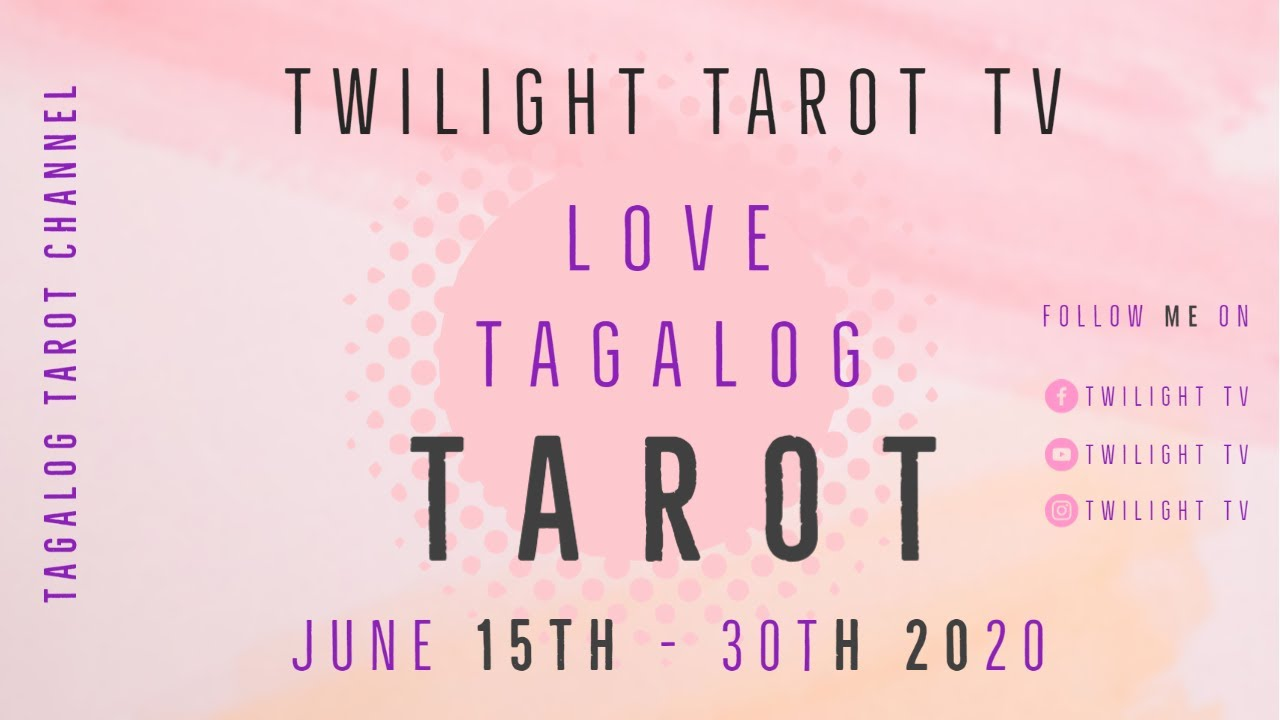 SAGITTARIUS! June 15-30th, 2020: Tagalog Love Tarot Reading!