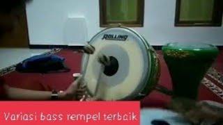 Pukulan bass rempel(tam) variasi