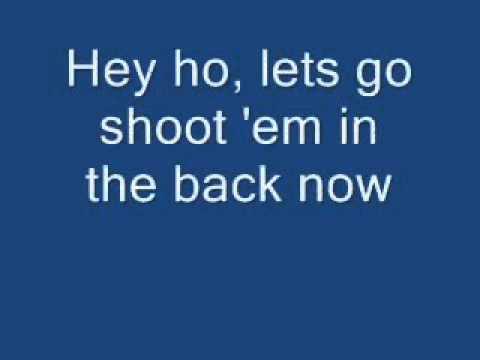 Ramones - Blitzkrieg Bop (lyrics)