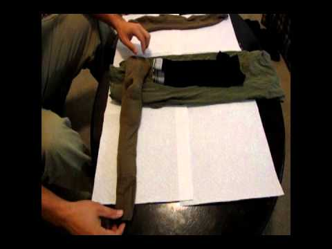 Bug Out Bag - Packing Clothes US Marine Style