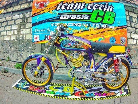 Honda CB Modifikasi Racing Look