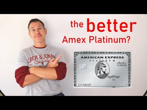 Schwab American Express Platinum Review - The Better Amex Platinum?