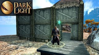 BASE BUILDING & SPEAR OP?   Dark and Light   Let's Play Gameplay   S02E03