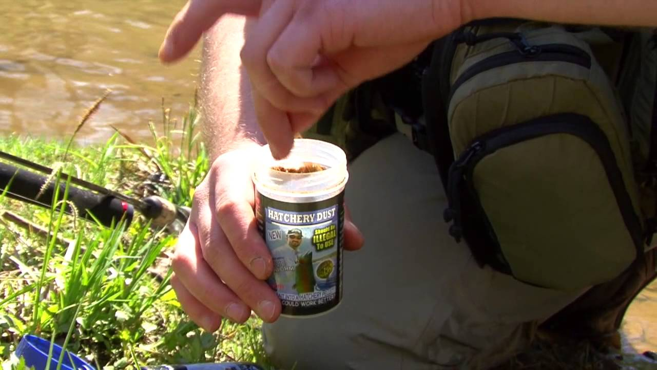 catching trout with lip ripperz hatchery dust - youtube, Fly Fishing Bait