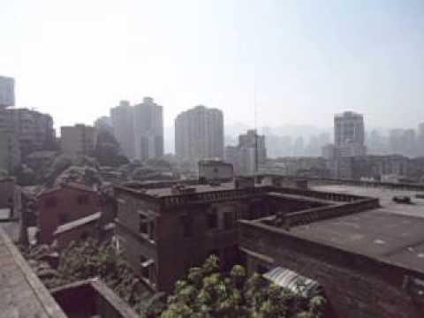 Decent View of Chongqing from Yuzhong   China   June 2013