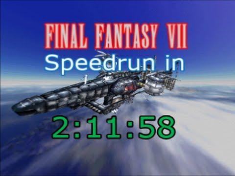 Final Fantasy VII Speedrun In 21158 YouTube