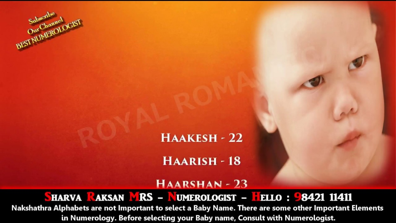 Boy Baby Name Starting With H 1 9842111411 Hindu Indian Tamil