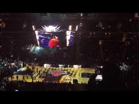 2015 - 2016 Season New York Knicks Game Opening