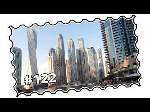 #122 - UAE, Dubai area - Dubai Marina, promenade, The Walk and beach (04/2014)