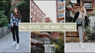 A Weekend of Travel, Outfits, and Live Music! //  by CHLOE WEN