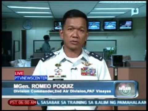 Panayam kay MGen  Romeo Poquiz, kaugnay sa mga kinahaharap na mga 'insurgents' sa Visayas