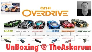 game anki overdrive deutsch unboxing starter kit carrera b. Black Bedroom Furniture Sets. Home Design Ideas