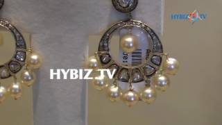 Victorian chandbali ear rings   Sri Jagadamba Pearls And jewellers   hybiz