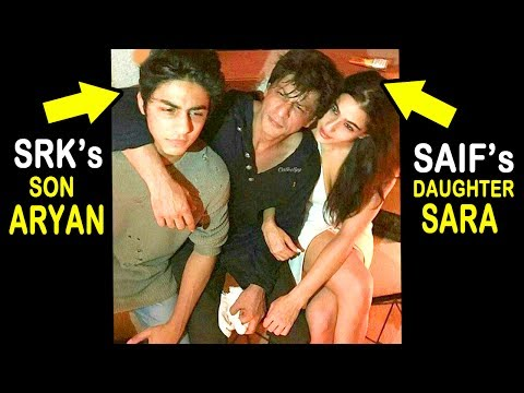 CONFIRMED Shahrukh Khan's Son Aryan Is Dating Saif Ali Khan's Daughter Sara