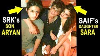 CONFIRMED Shahrukh Khan's Son Aryan Is Dating Saif Ali Khan's Daughter Sara