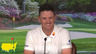 Justin Rose - 2019 Masters Interview
