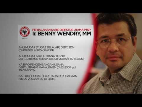 Video Profil Direktur Utama PT Semen Padang | Ir. Benny Wendry, MM