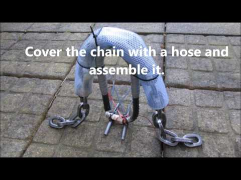 Badass ground-anchor for Almax 4 chain