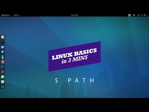 LINUX BASICS IN 3 MINS : $PATH ENVIRONMENT VARIABLE