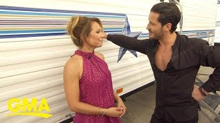 Val Chmerkovskiy on not knowing who his partner is this season  | GMA