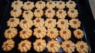 Курабье бакинское по ГОСТу сладкое печенье за пару минут очень легкий рецепт