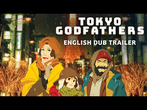 Tokyo Godfathers [Official English Dub Trailer, GKIDS] - Blu-ray/DVD June 2