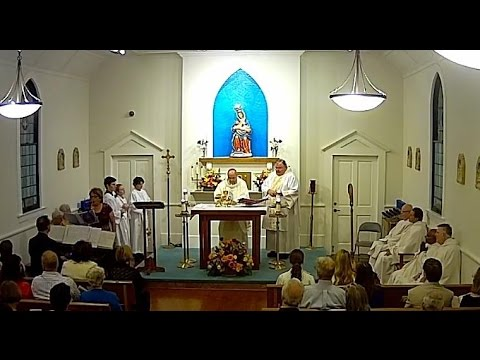 Dedication Mass (audio and video)